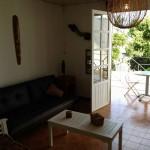 Salon et Terrasse de la Villa Bambou