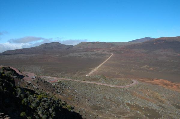 Route du volcan à la Réunion