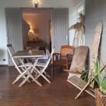 Terrasse Chambre Corail chez Côté Cannelle
