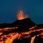 Volcan du Piton de la Fournaise à la Réunion